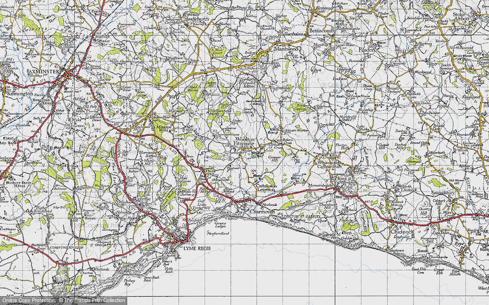 Wootton Fitzpaine, 1945