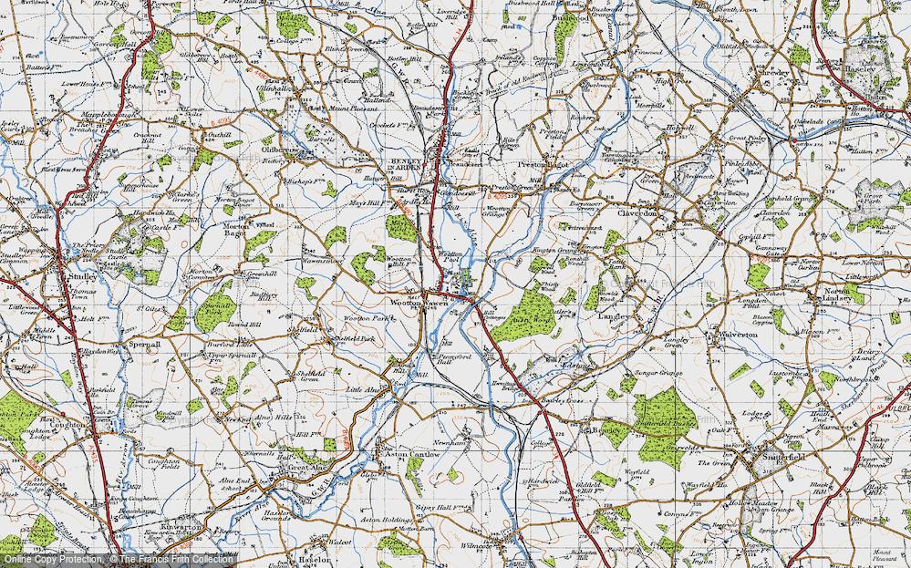 Wootton Wawen, 1947
