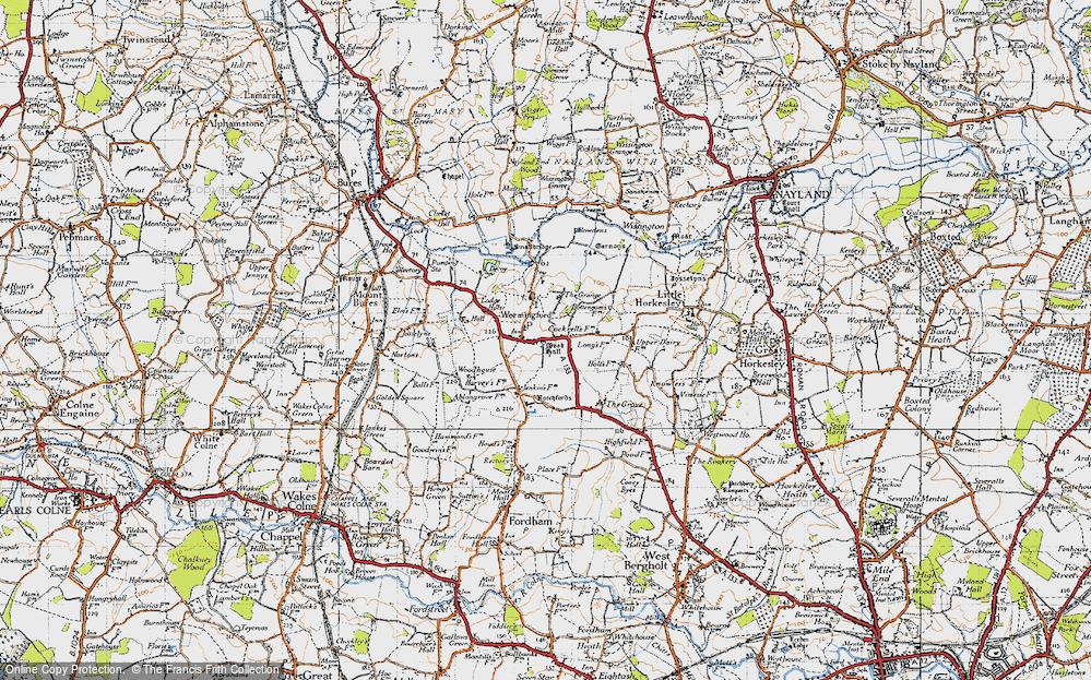 Wormingford, 1945