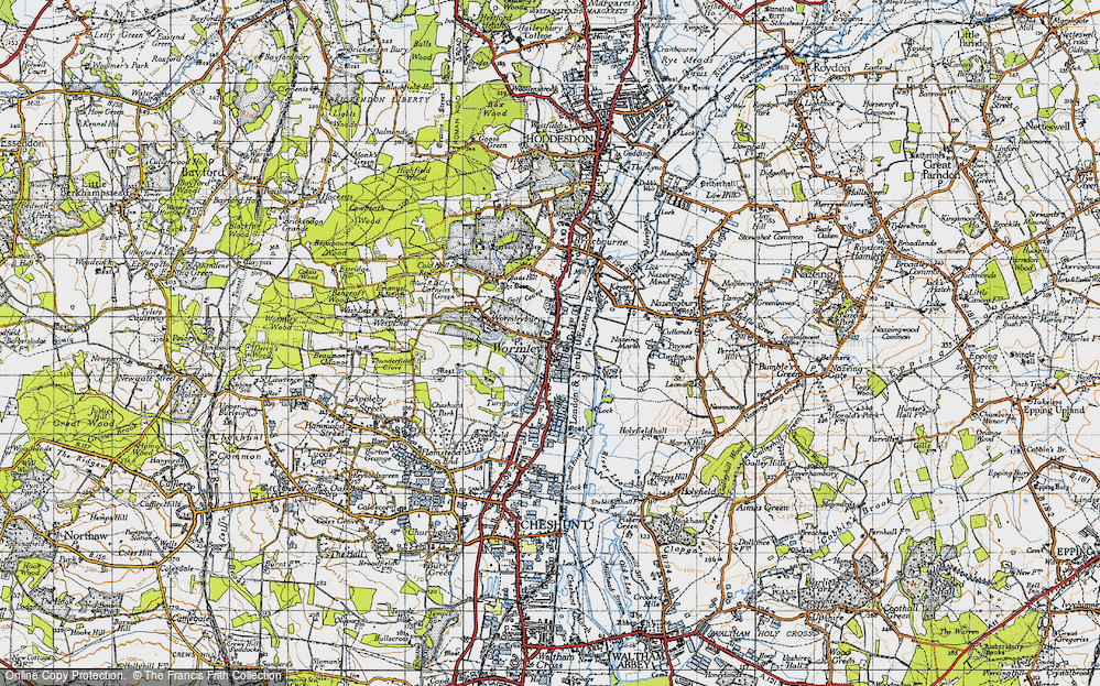 Wormleybury, 1946