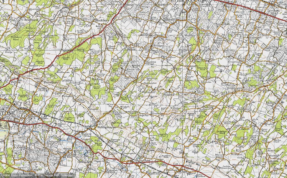 Wormshill, 1946