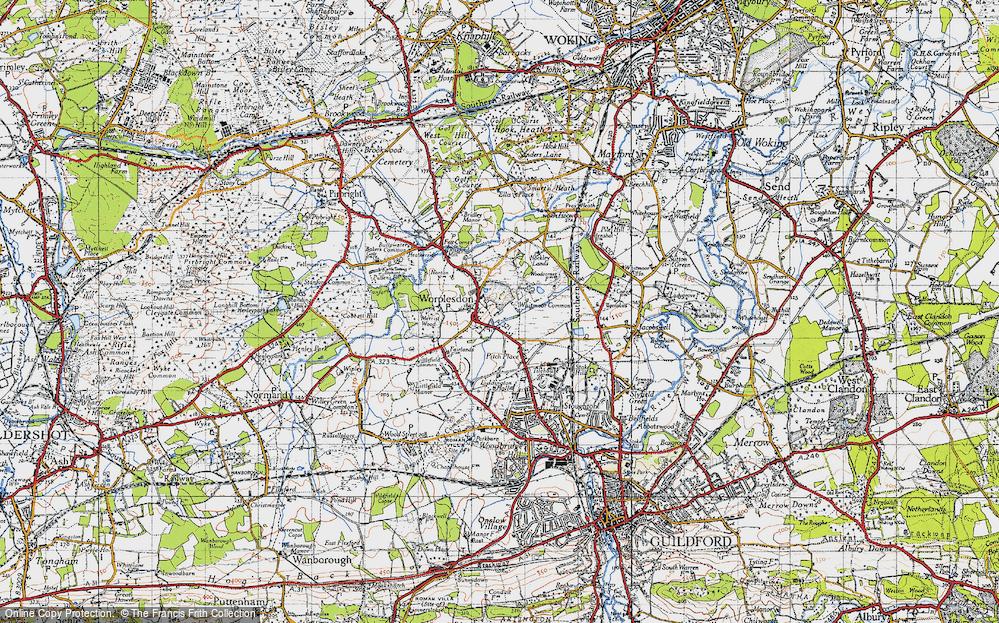 Worplesdon, 1940