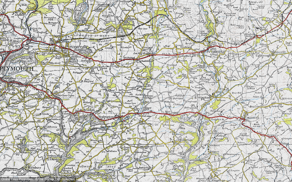 Old Map of Worston, 1946 in 1946
