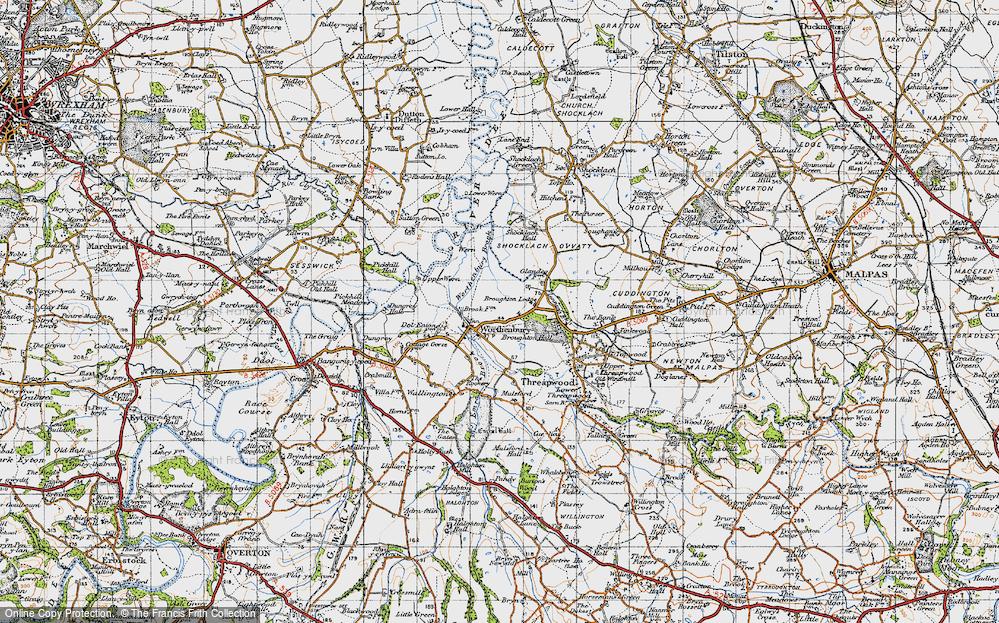 Worthenbury, 1947