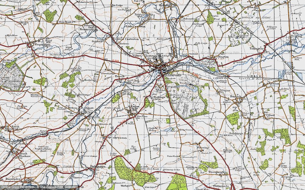 Wothorpe, 1946