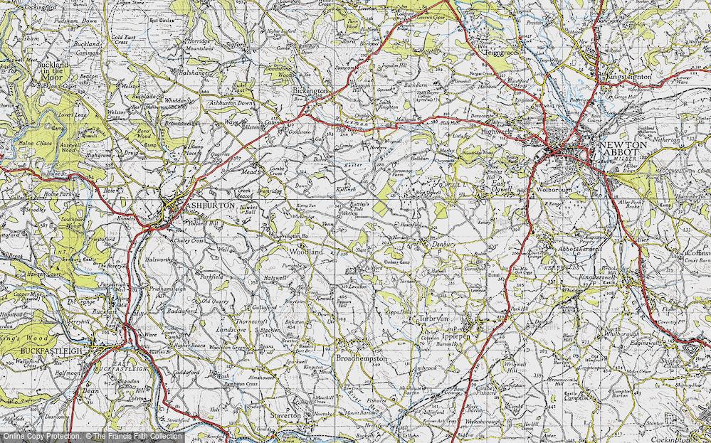 Wotton Cross, 1946
