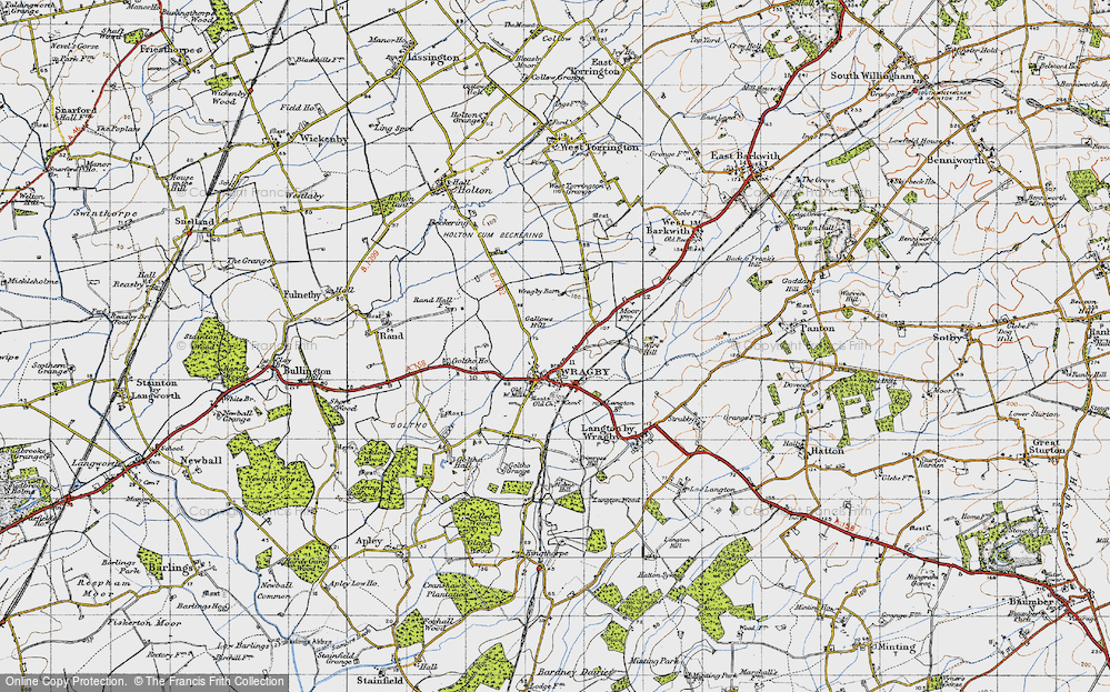 Wragby, 1946