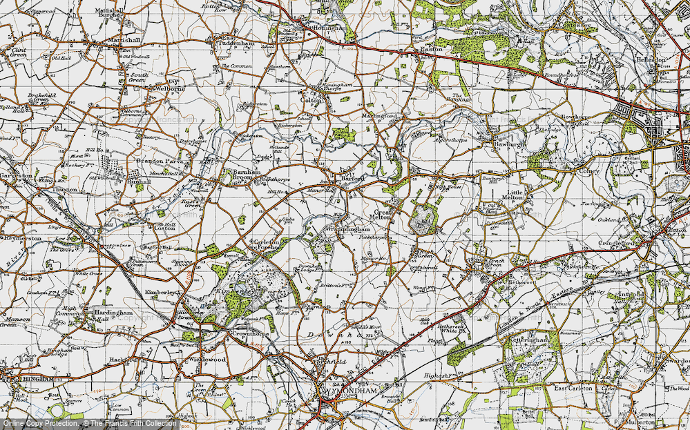 Wramplingham, 1945