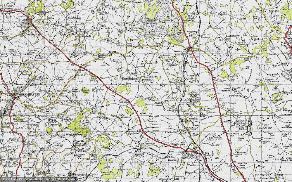 Wraxall, 1945