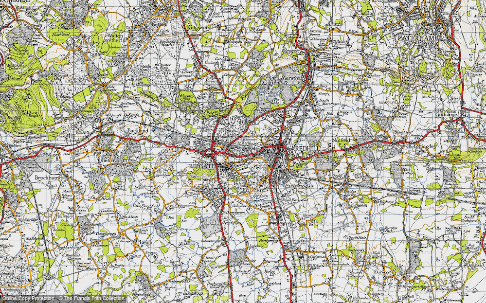 Old Map of Wray Common, 1940 in 1940