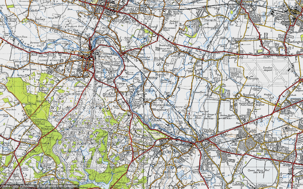 Wraysbury, 1945