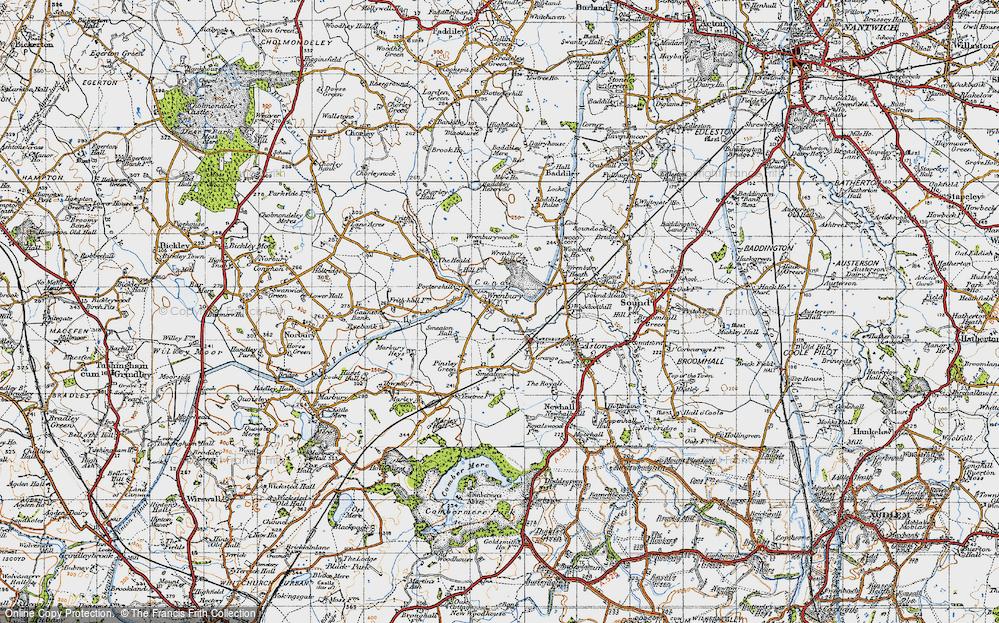 Wrenbury, 1947