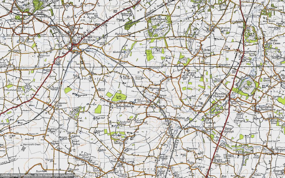 Wreningham, 1946