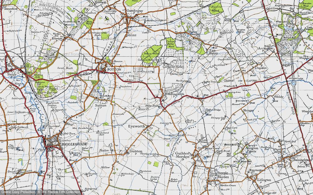 Wrestlingworth, 1946