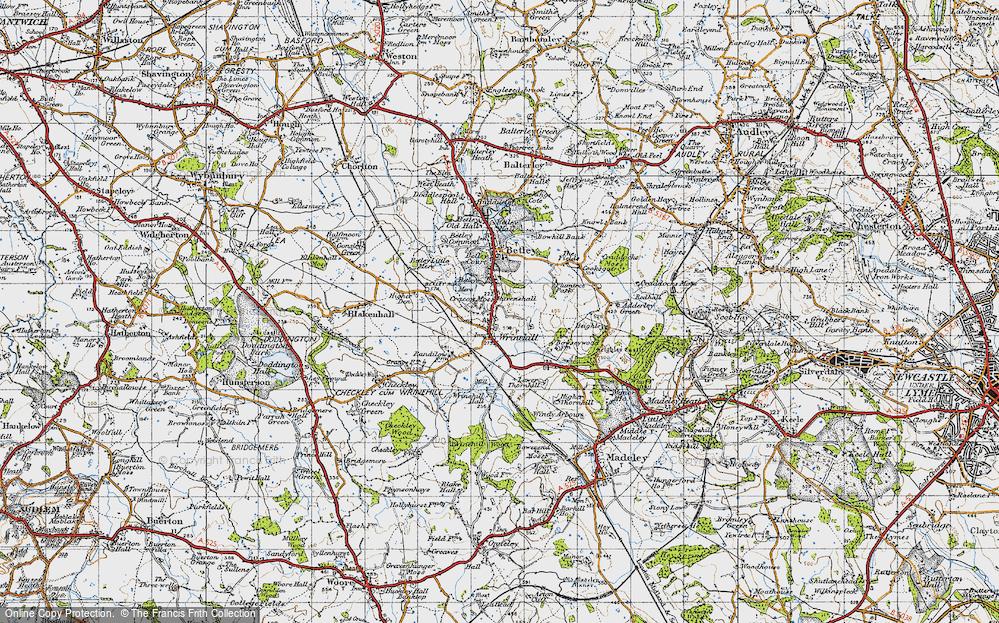 Wrinehill, 1946