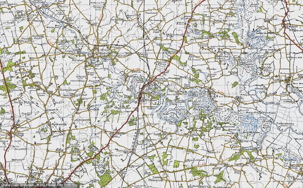 Wroxham, 1945
