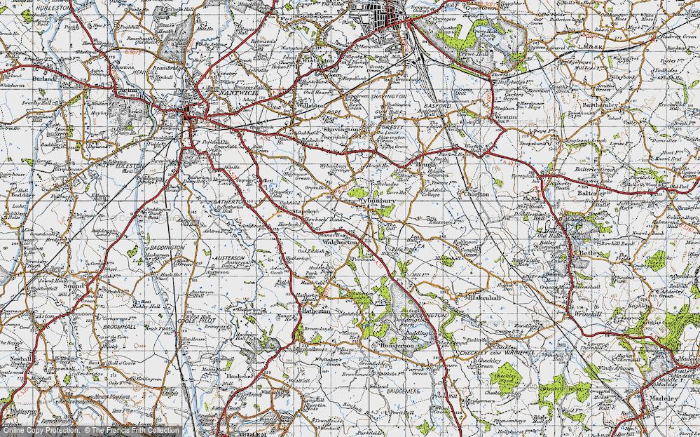 Wybunbury, 1946