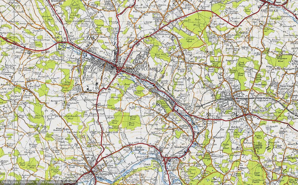 Wycombe Marsh, 1947