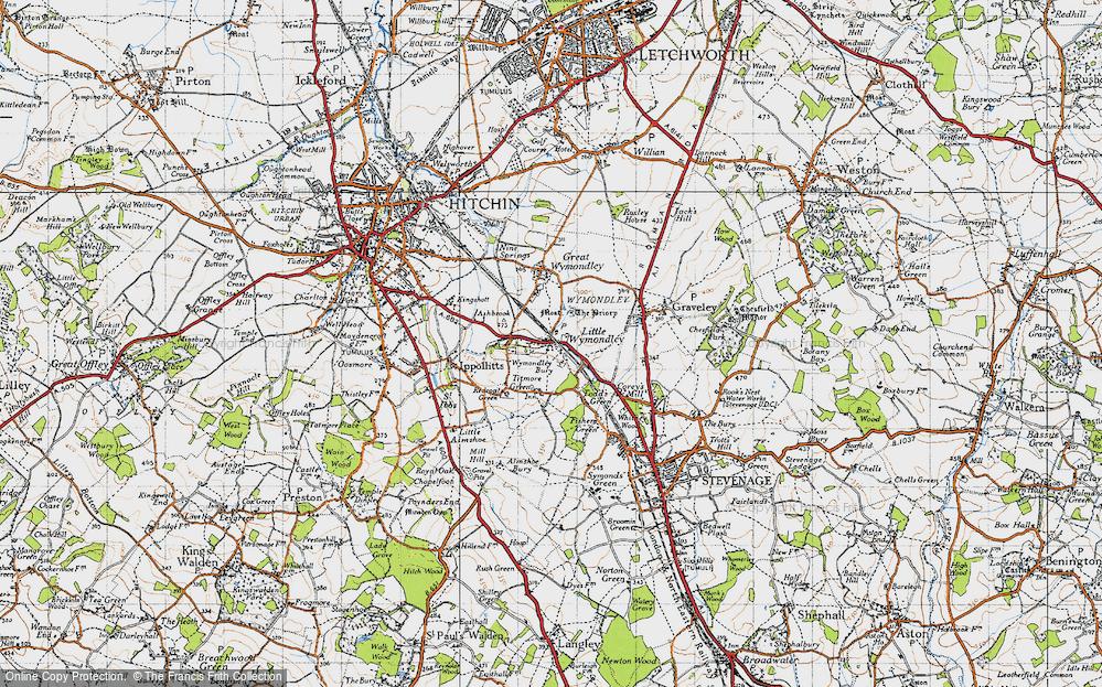 Wymondley Bury, 1946