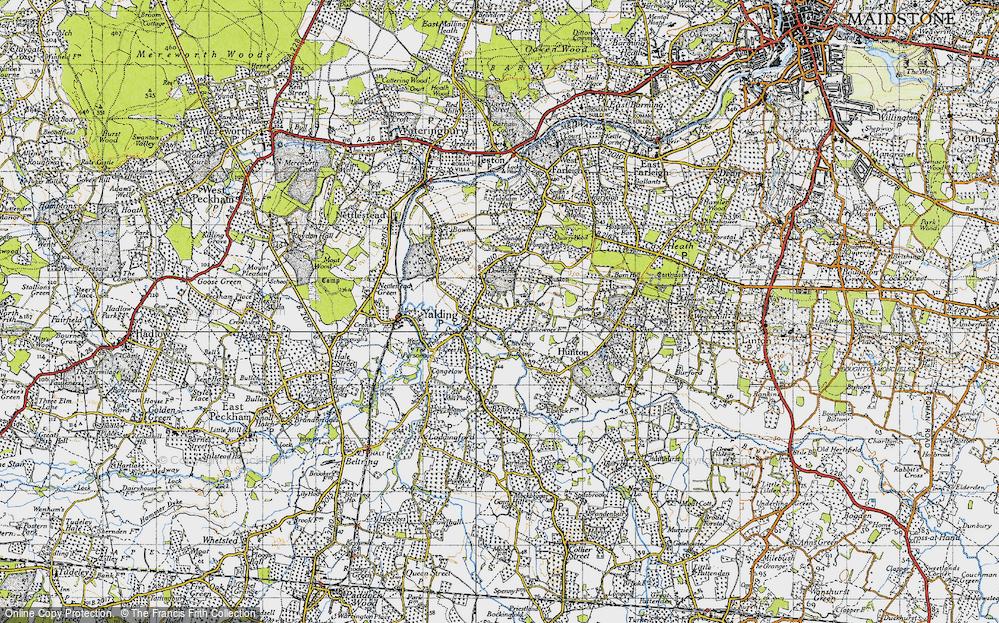 Yalding, 1940