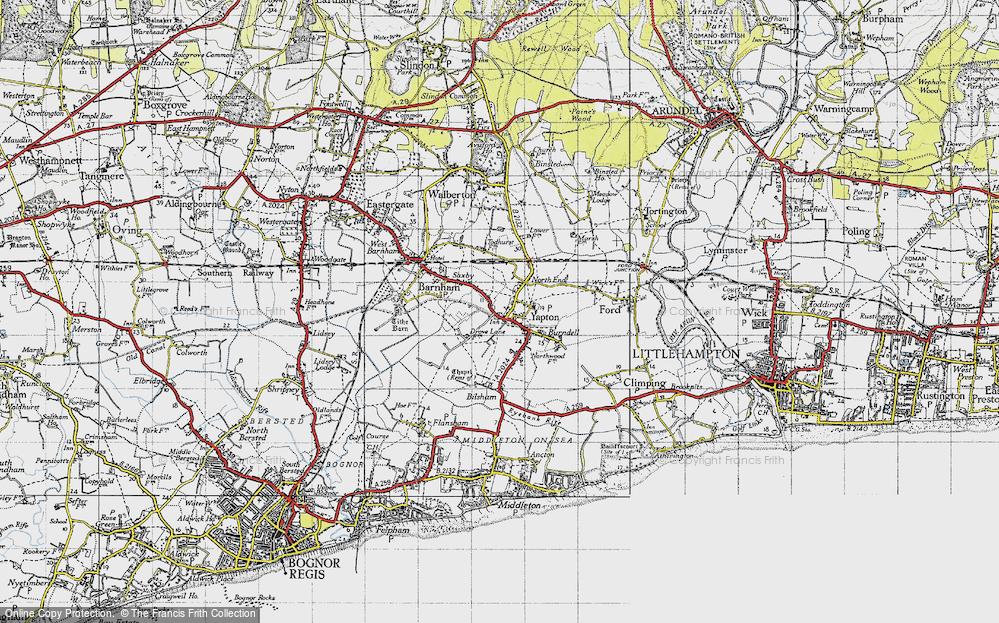 Yapton, 1945