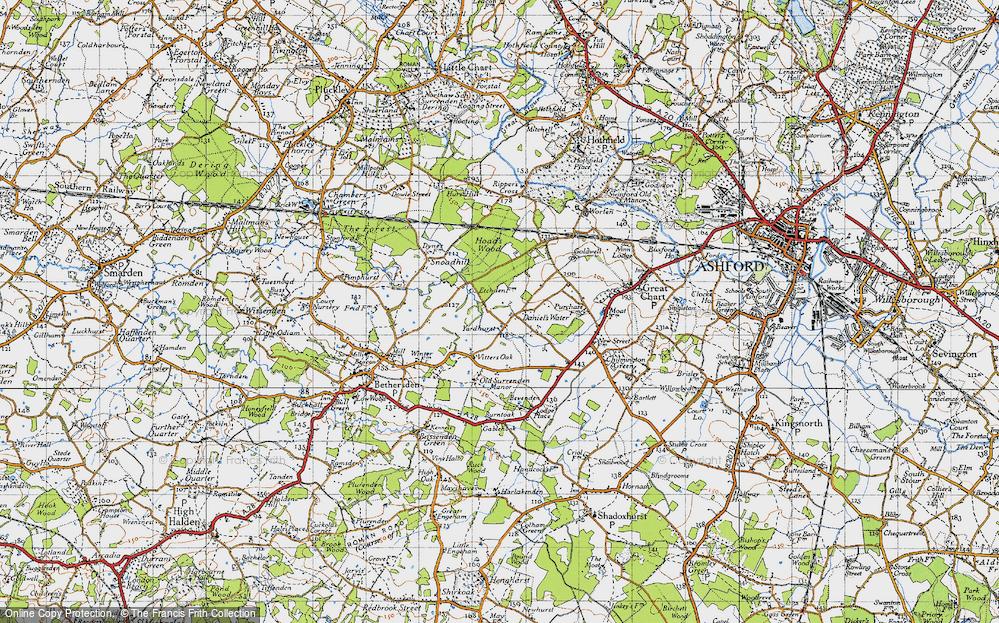 Yardhurst, 1940
