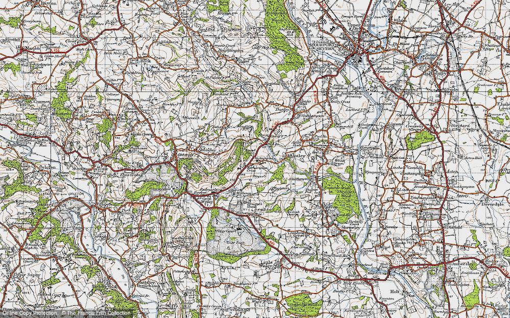 Yarhampton Cross, 1947