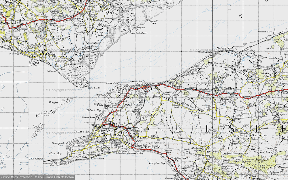 Yarmouth, 1945