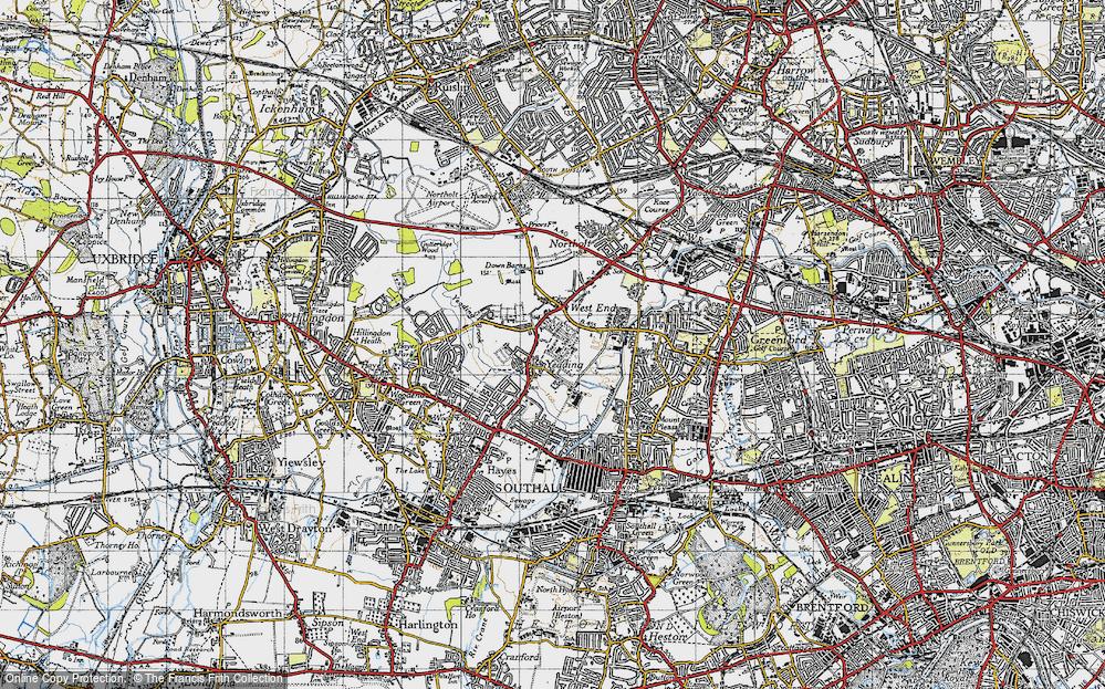 Yeading, 1945