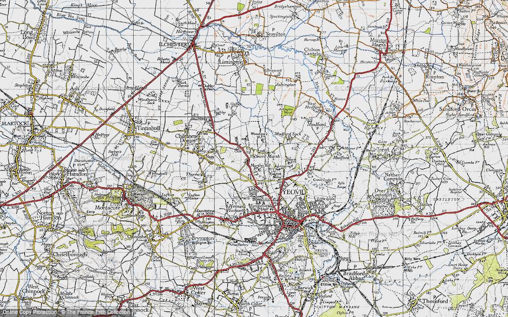 Yeovil Marsh, 1945