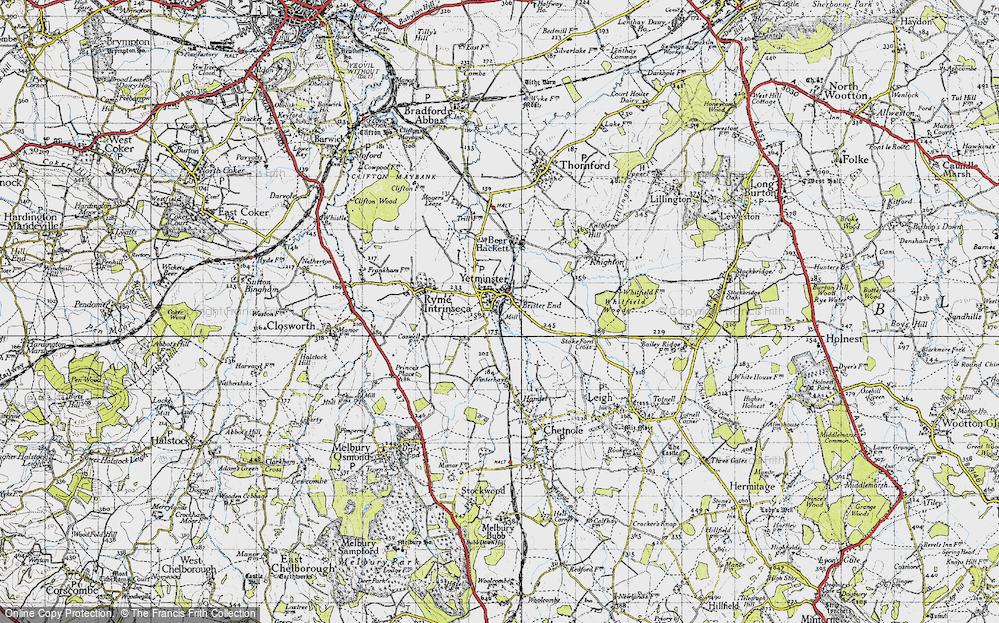 Yetminster, 1945