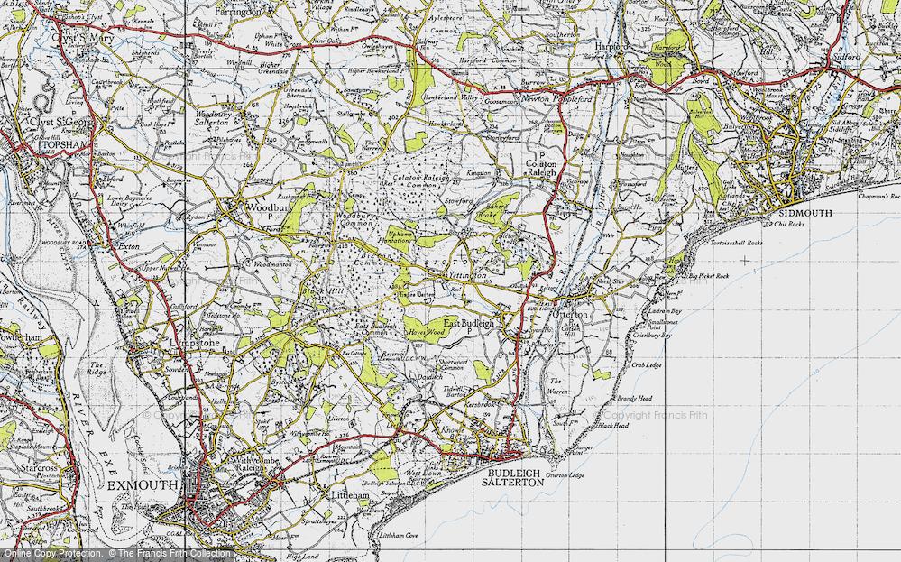 Yettington, 1946