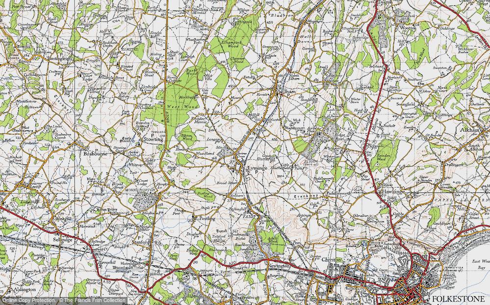 Yewtree Cross, 1947