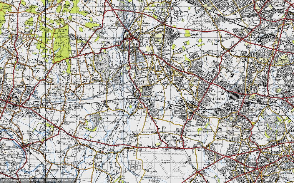 Yiewsley, 1945