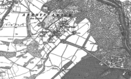 Old Map of Abbots Leigh, 1883 - 1902