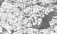 Old Map of Abbotsham, 1886 - 1904