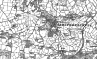 Old Map of Abbotskerswell, 1886 - 1887