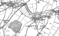 Old Map of Abbotts Ann, 1894