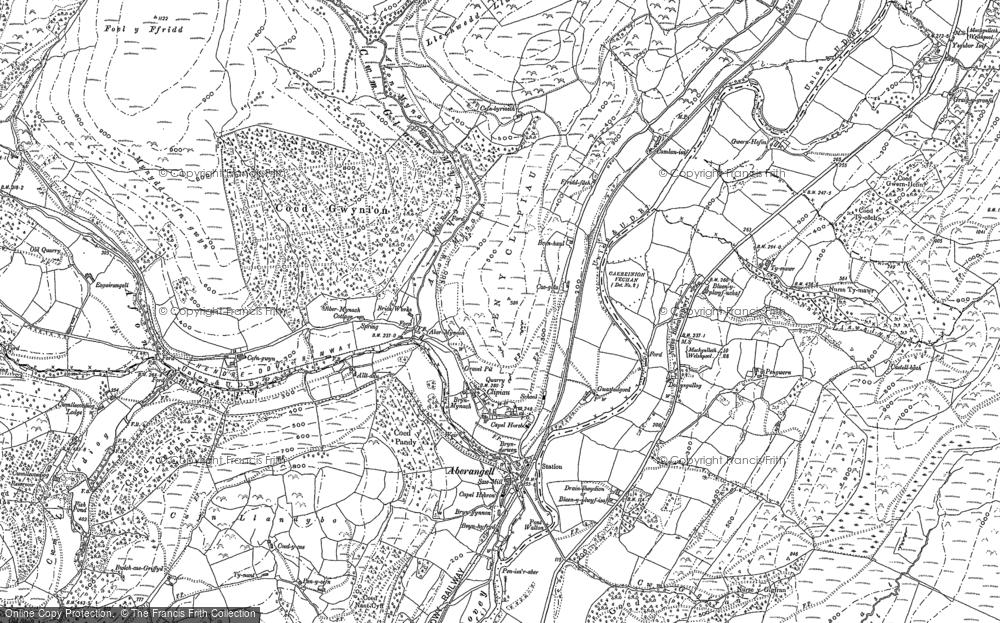 Aberangell, 1900