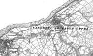 Old Map of Aberarth, 1904