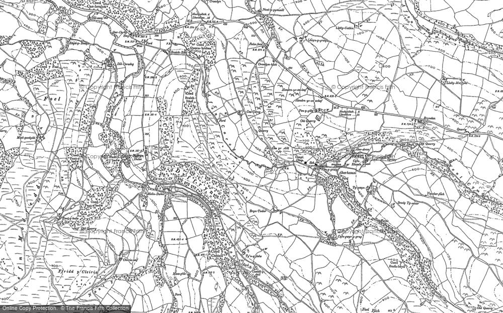 Aberhosan, 1886