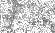 Old Map of Abernant, 1887