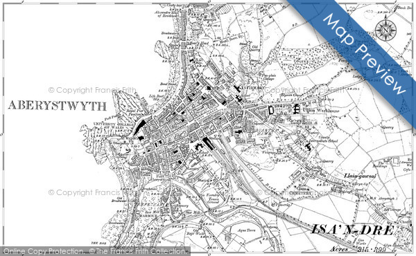 Old Map of Aberystwyth, 1904 in 1904