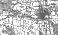 Old Map of Abinger Hammer, 1895