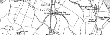 Old map of Allt Chrianaig centred on your home