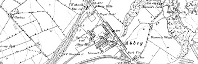 Old map of Ardchattan Priory centred on your home