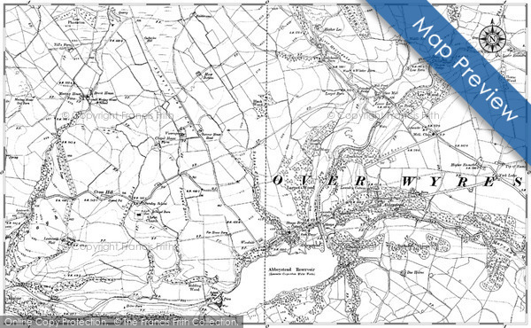 Historic Map covering Allt Leacach