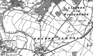 Old Map of Achurch, 1903