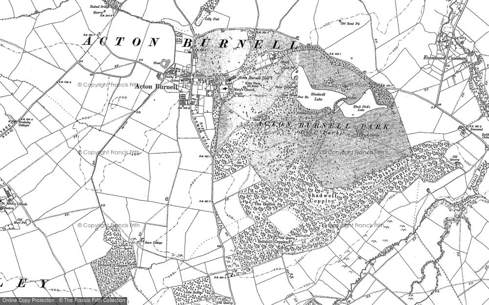 Acton Burnell, 1882