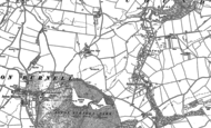 Old Map of Acton Pigott, 1903
